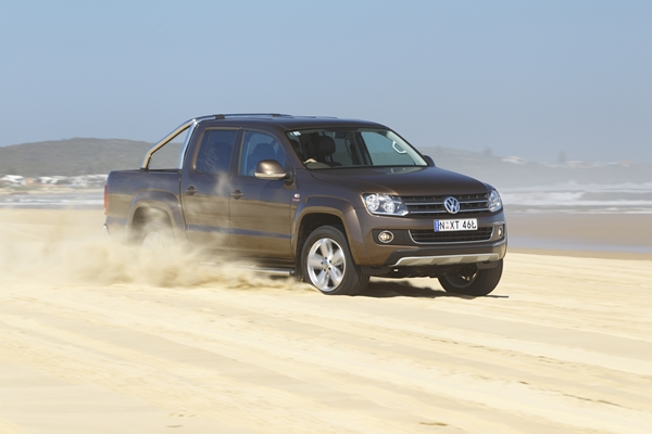 Volkswagen Amarok Ultimate front three quarter view