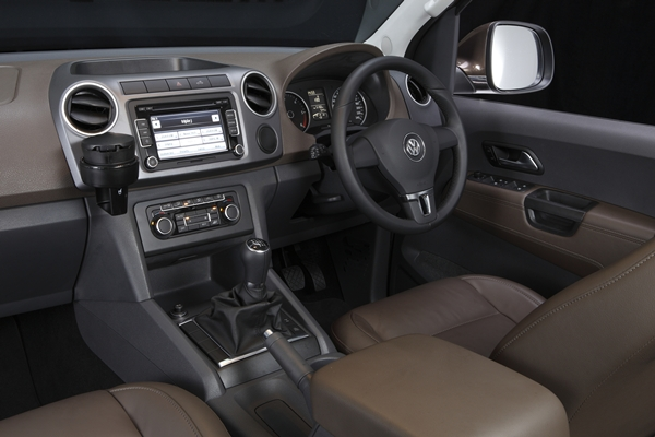 Volkswagen Amarok Ultimate interna;l drivers dash view