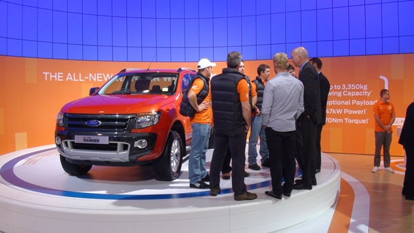 Ford Ranger Wildrtrak at AIMS 2011