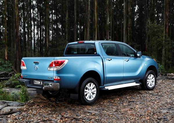 Mazda BT 50 XTR Dual Cab Ute rear