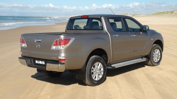 Mazda BT50 XTR Hi Ride Stockton Beach 2012