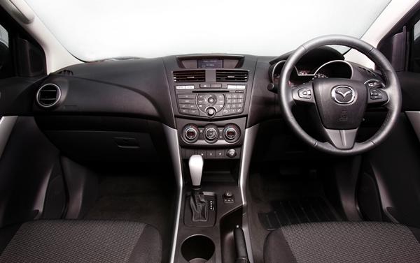 Mazda BT50 XTR HiLine dash