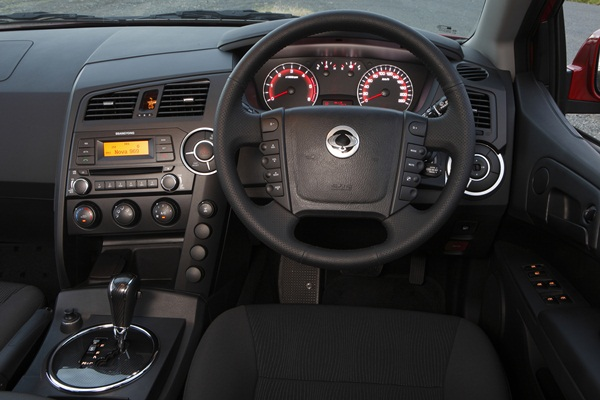 Ssangyong Actyon Sports SX  Dual Cab Ute DASH