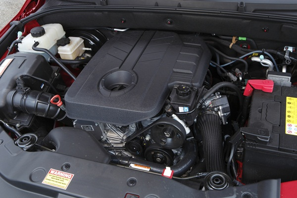 Ssangyong Actyon Sports SX Dual Cab Ute engine
