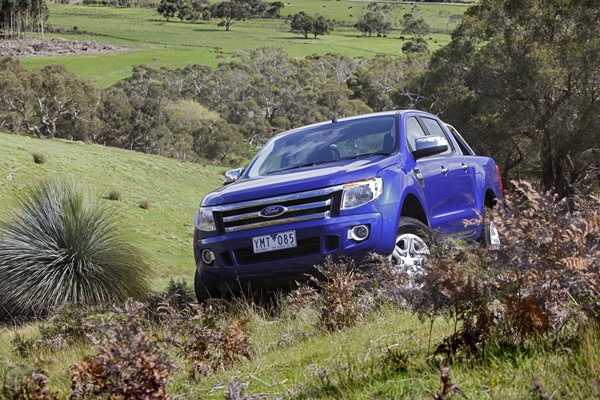 Ford Ranger XLT 3.2L 6 Speed Manual country