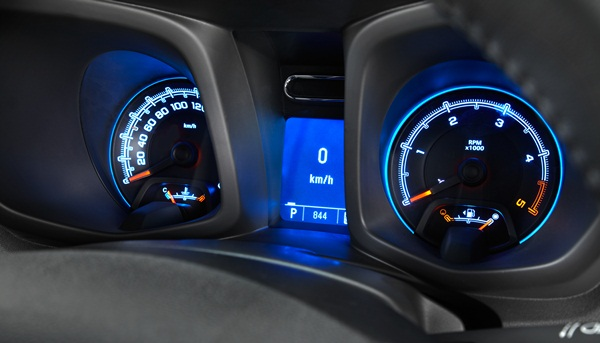 2012 Colorado LTZ Crew Cab dash instruments