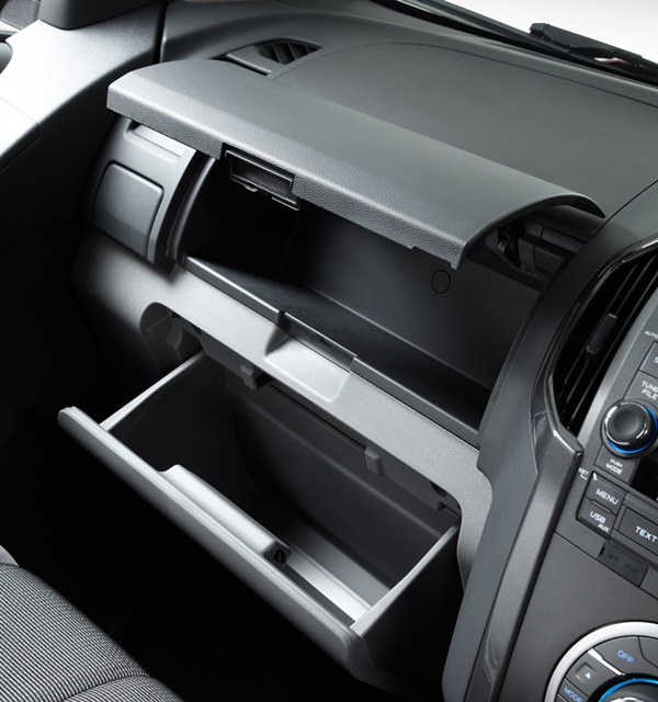 2012 Colorado LTZ Crew Cab front storage