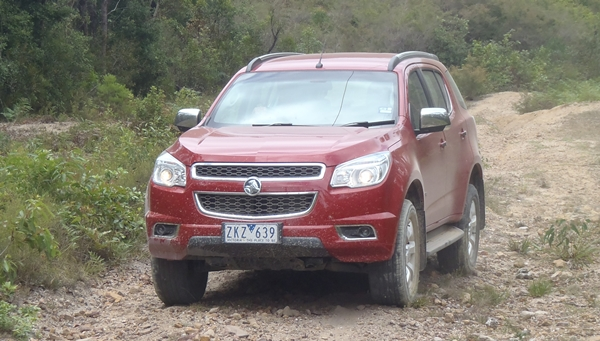 Holden Colorado7 LTZ Wagon