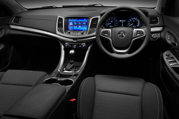 2013 Holden VF Commodore Evoke sedan interior dash