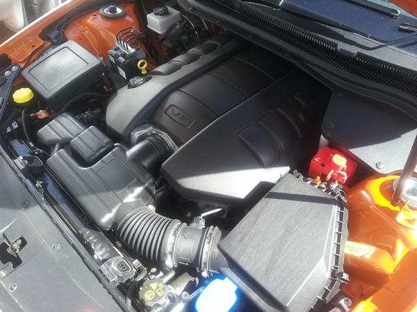 Holden VF SSV Ute 6.0l v8 engine
