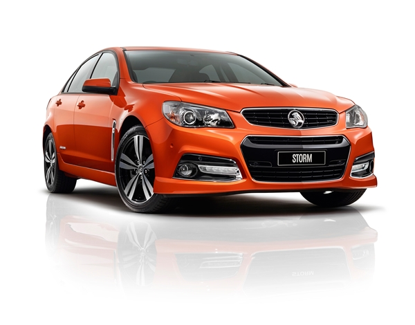 VF Holden Commodore front final