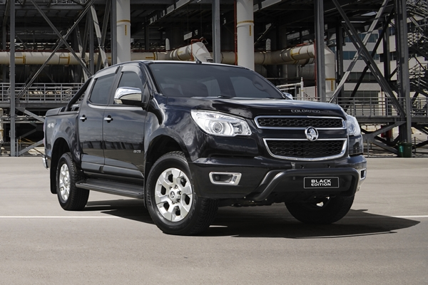 Holden Colorado 'Black Edition' ipad