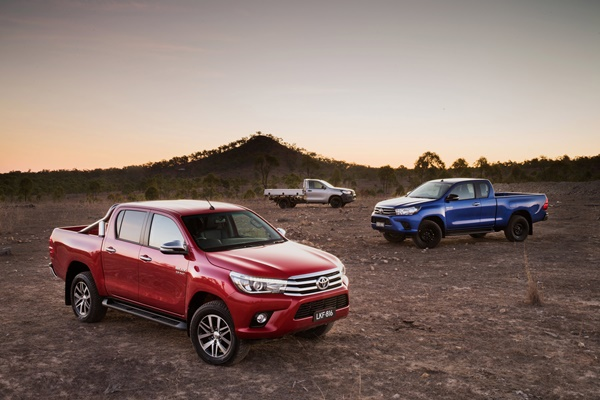 MY 15 All new Toyota Hilux range