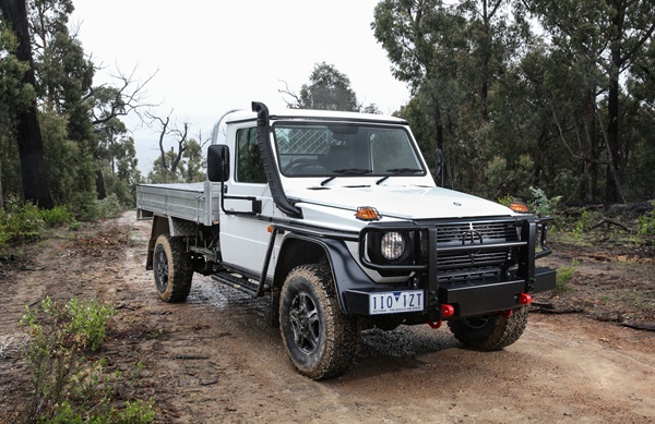 Mercedes benz g professional cab chassis ute for Mercedes benz 4wd