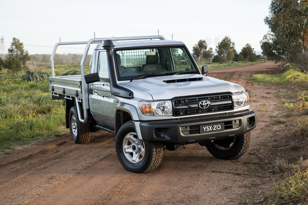 2016 Toyota LandCruiser 70 Series Single Cab Chassis