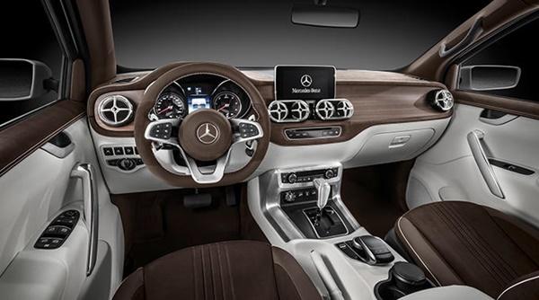 Mercedes Bnez X Class