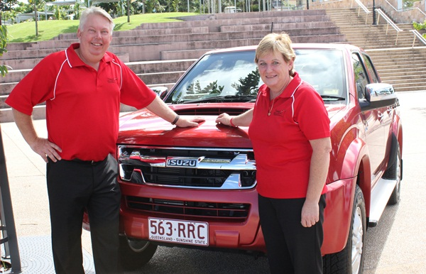 Morcombe Foundation and Isuzu Ute Partner