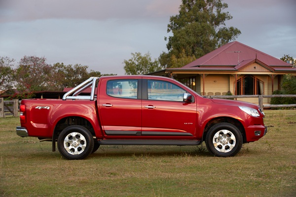 2012 Colorado LTZ Crew Cab side