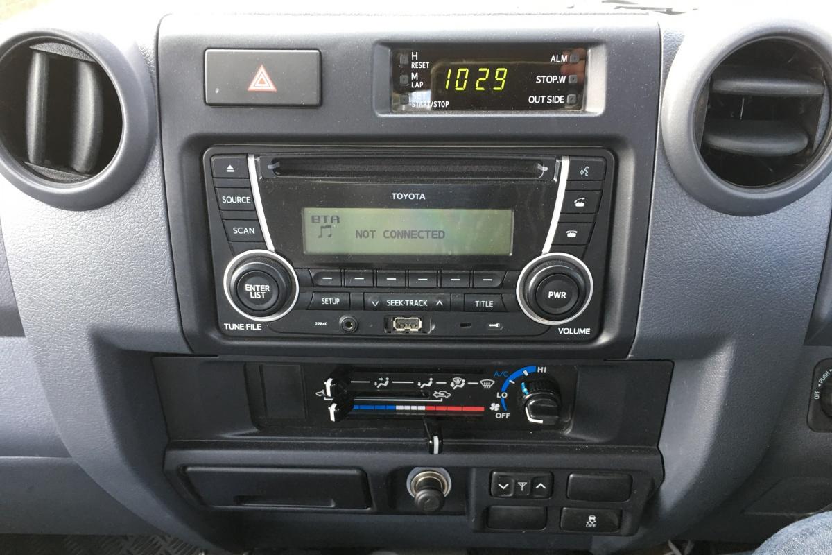 Toyota LC70 Dual Cab Ute GXL 1