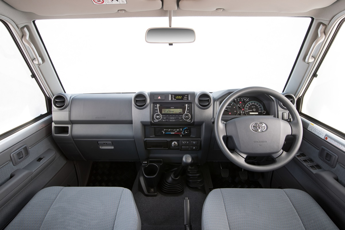 2016 Toyota LandCruiser 70 Series GXL interior