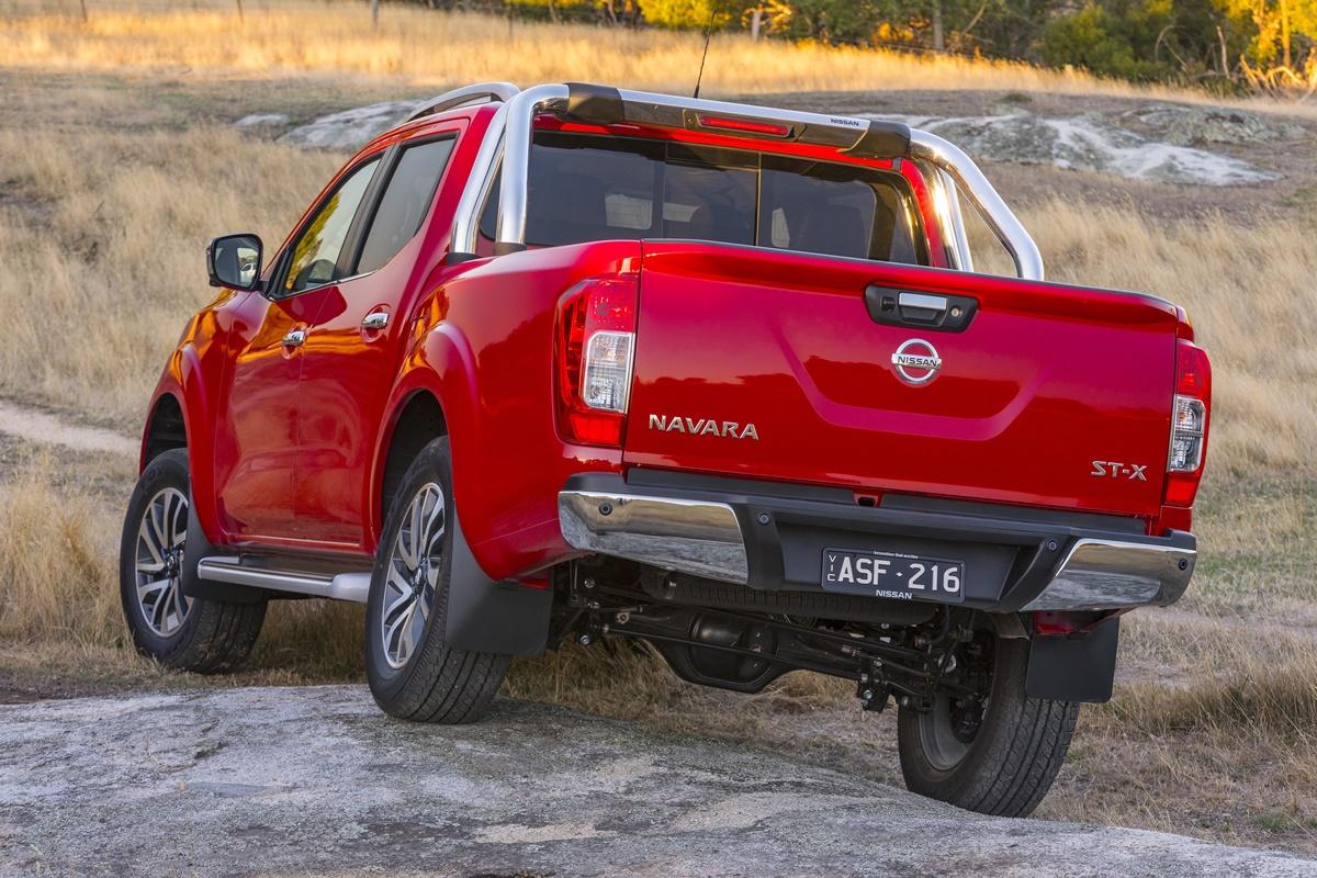 2018 Nissan Navara ST-X articulation
