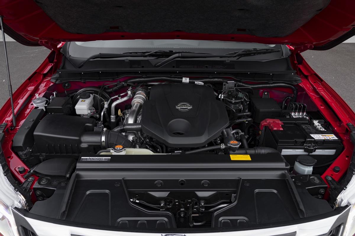 2018 Nissan Navara ST-X engine