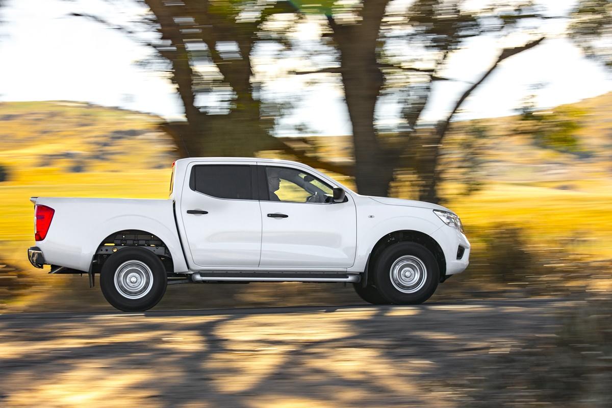 Nissan Navara SL Shown