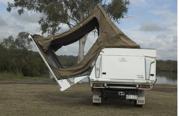 Travelander-Evron-SC2-Premium-Slide-on-Camper-folding