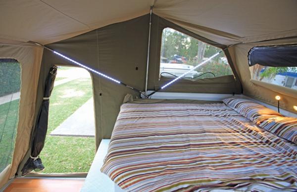 Travelander GEO 2 Camper Trailer Kitchen