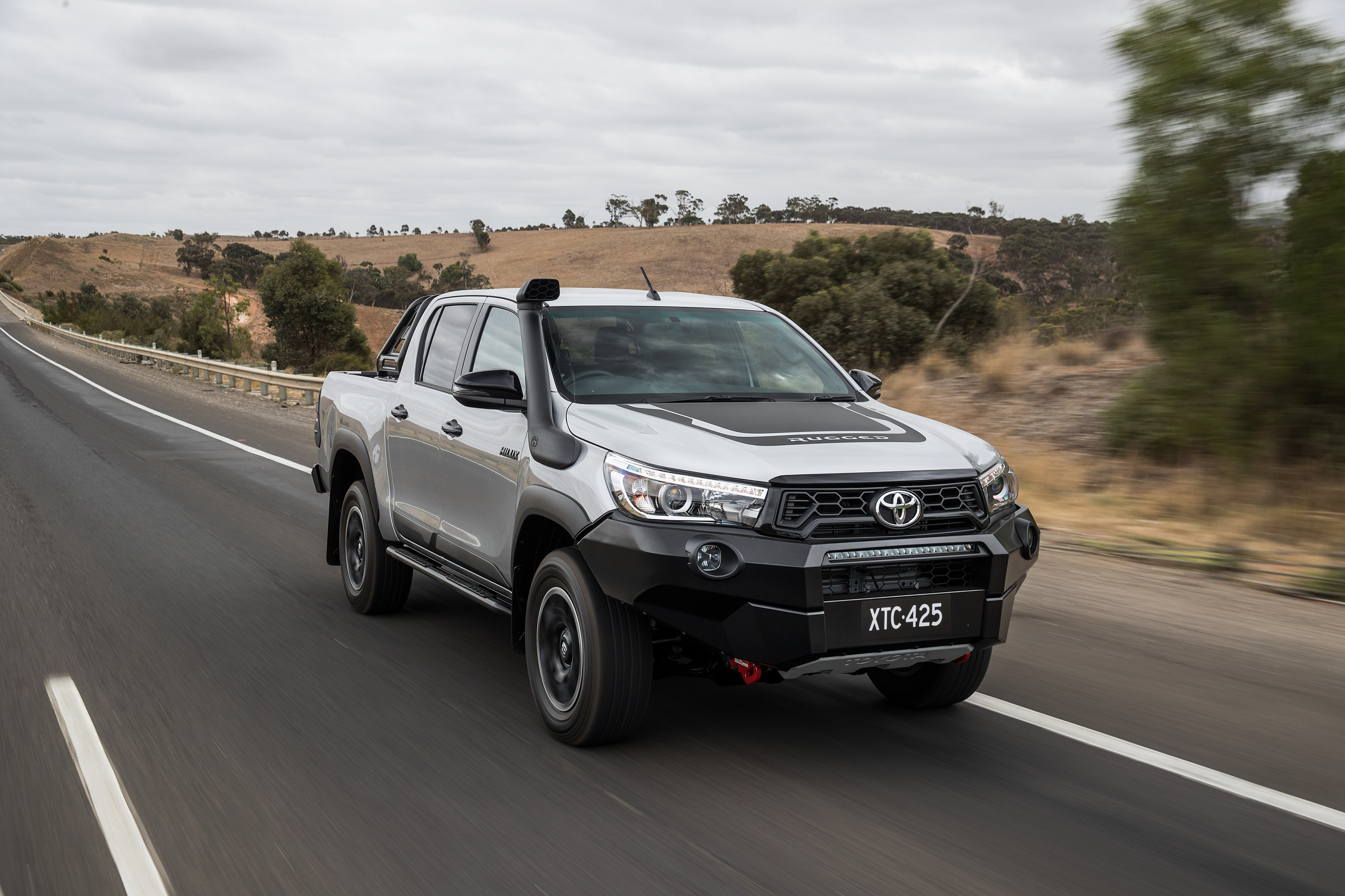 toyota hilux rugged  review ute guide