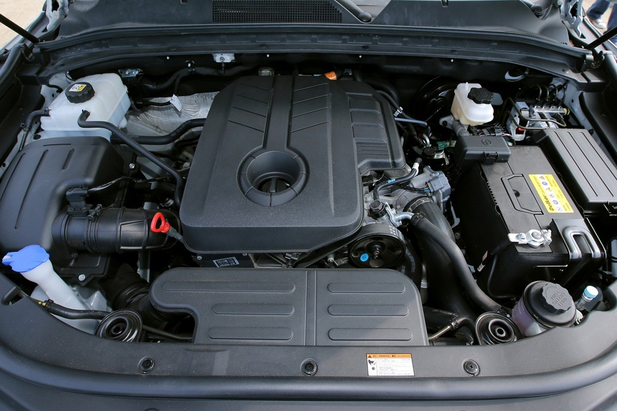 SsangYong Musso 9 engine