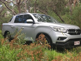 SsangYong Musso Ultimate 1 front 34