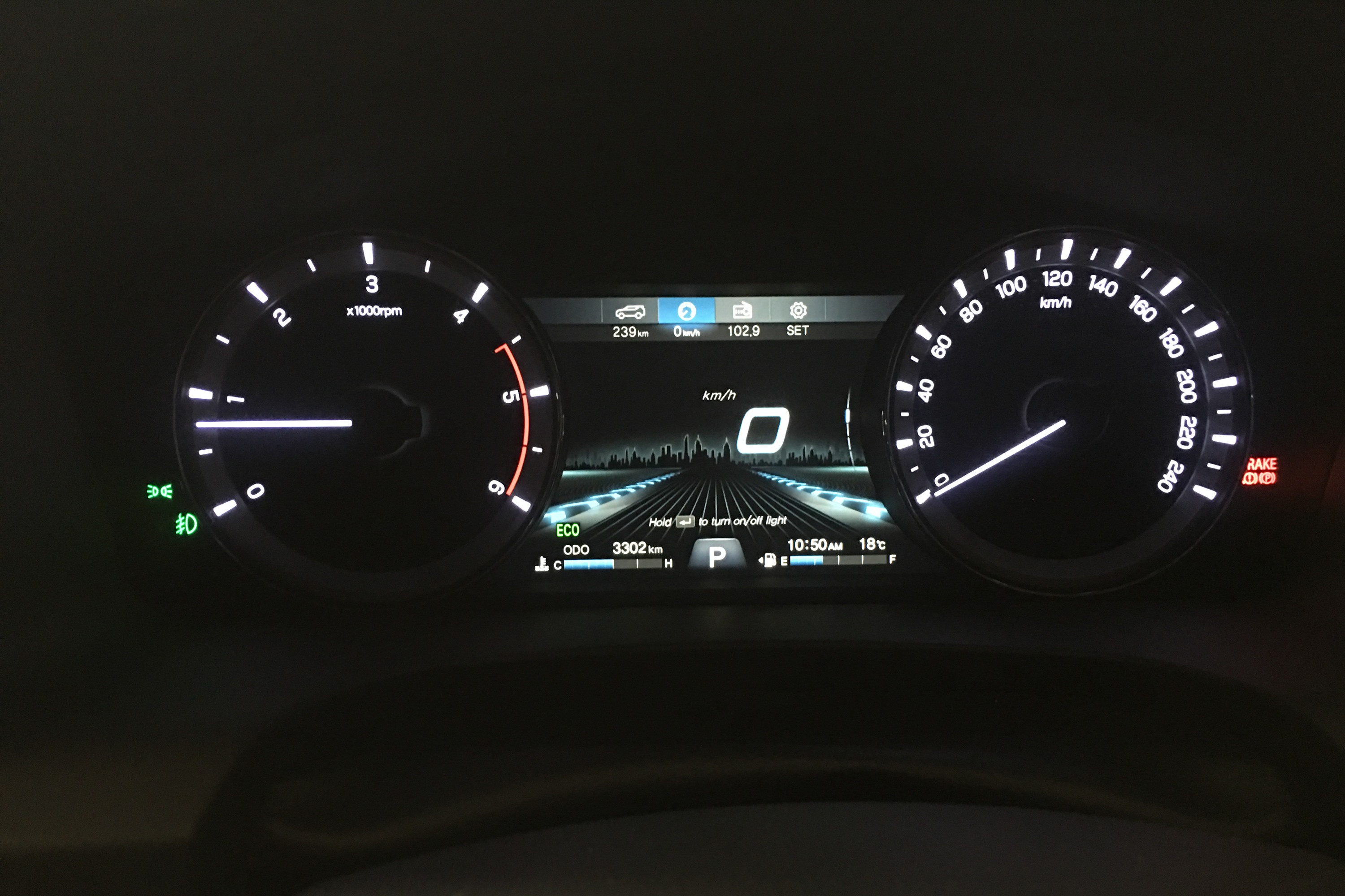 SsangYong Musso Ultimate 11 DASH