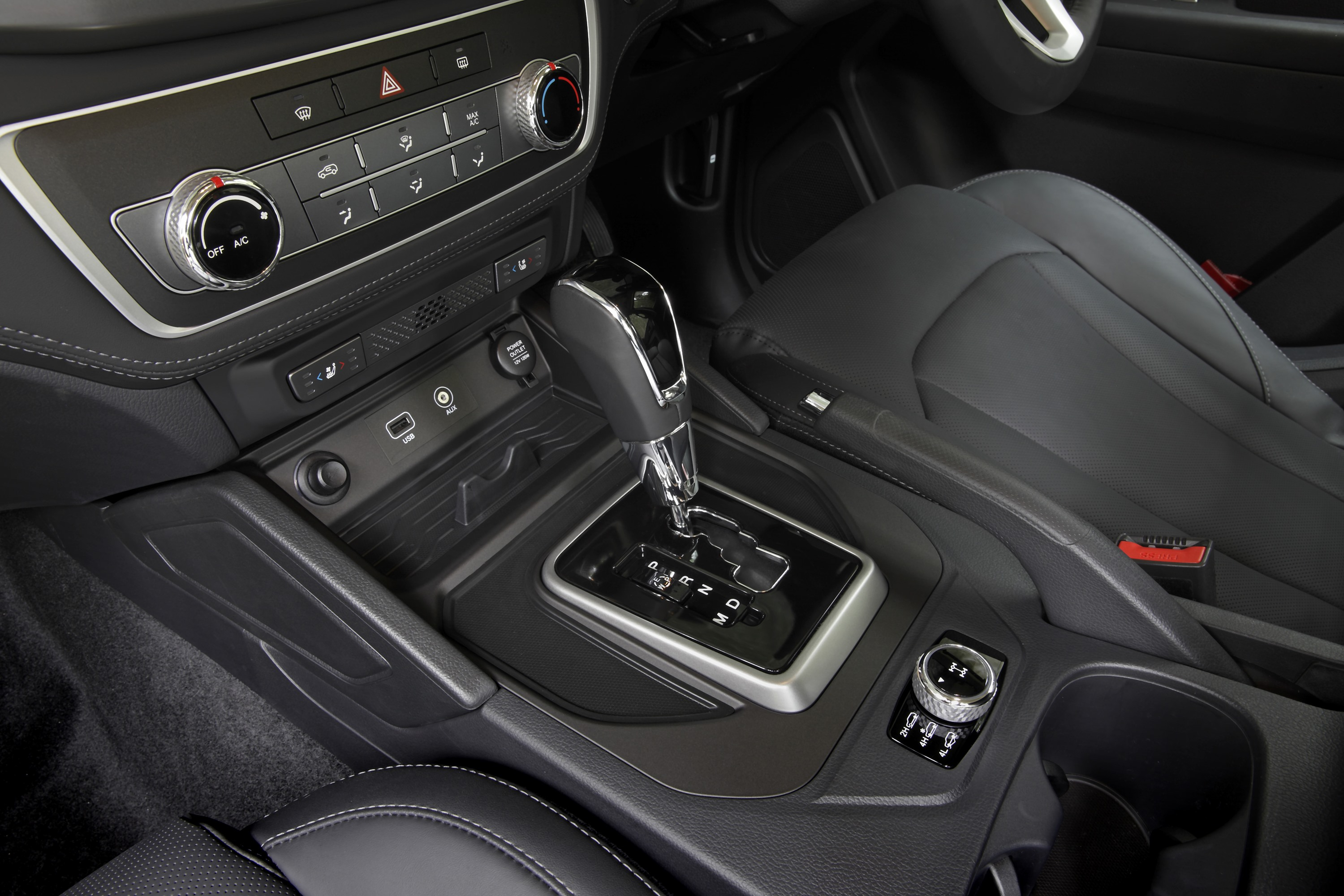 SsangYong Musso Ultimate 14 centre console
