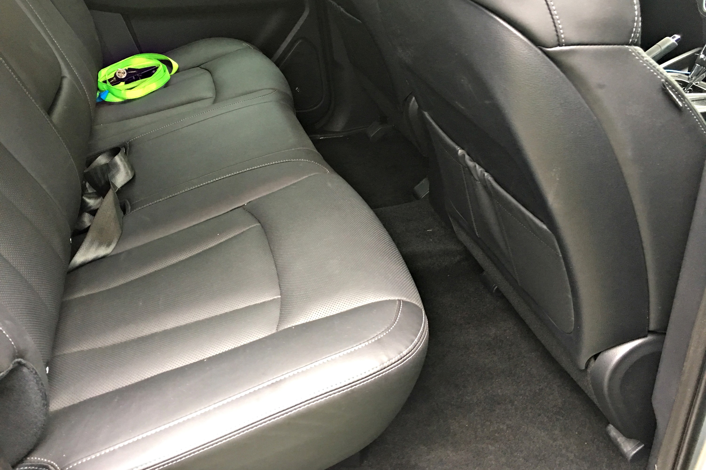 SsangYong Musso Ultimate 4 rear seats