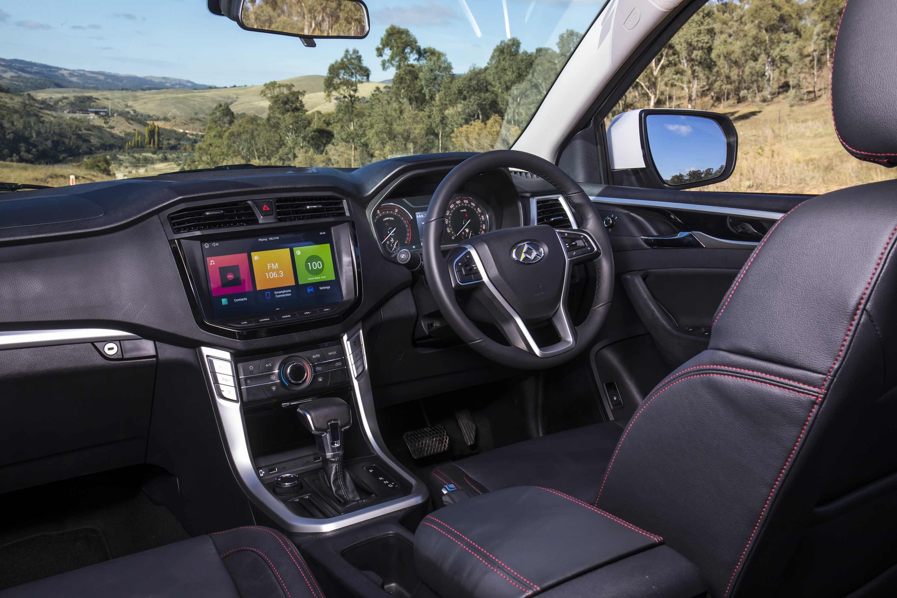 2019 LDV T60 Trailrider interior