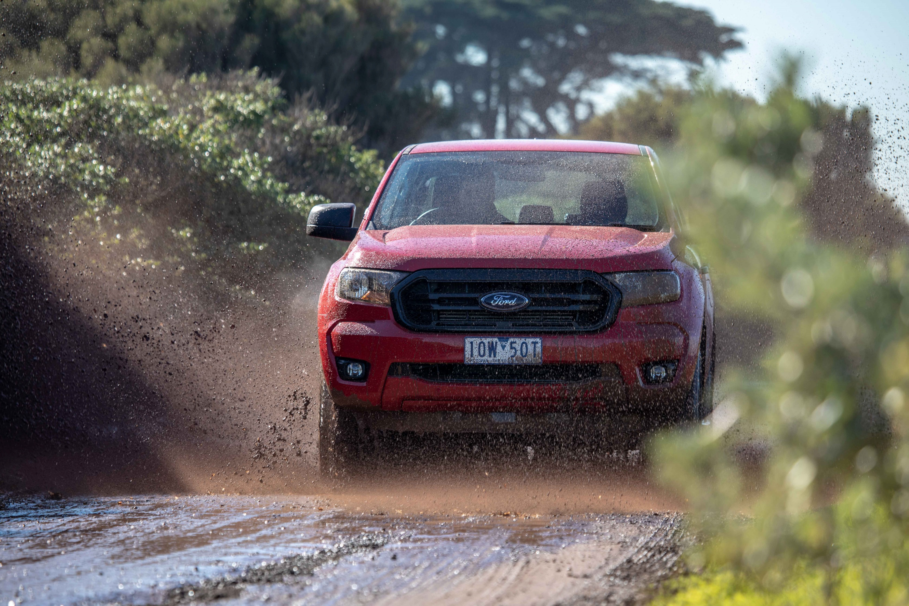 2019 Ford Ranger Sport Edition 4 driving