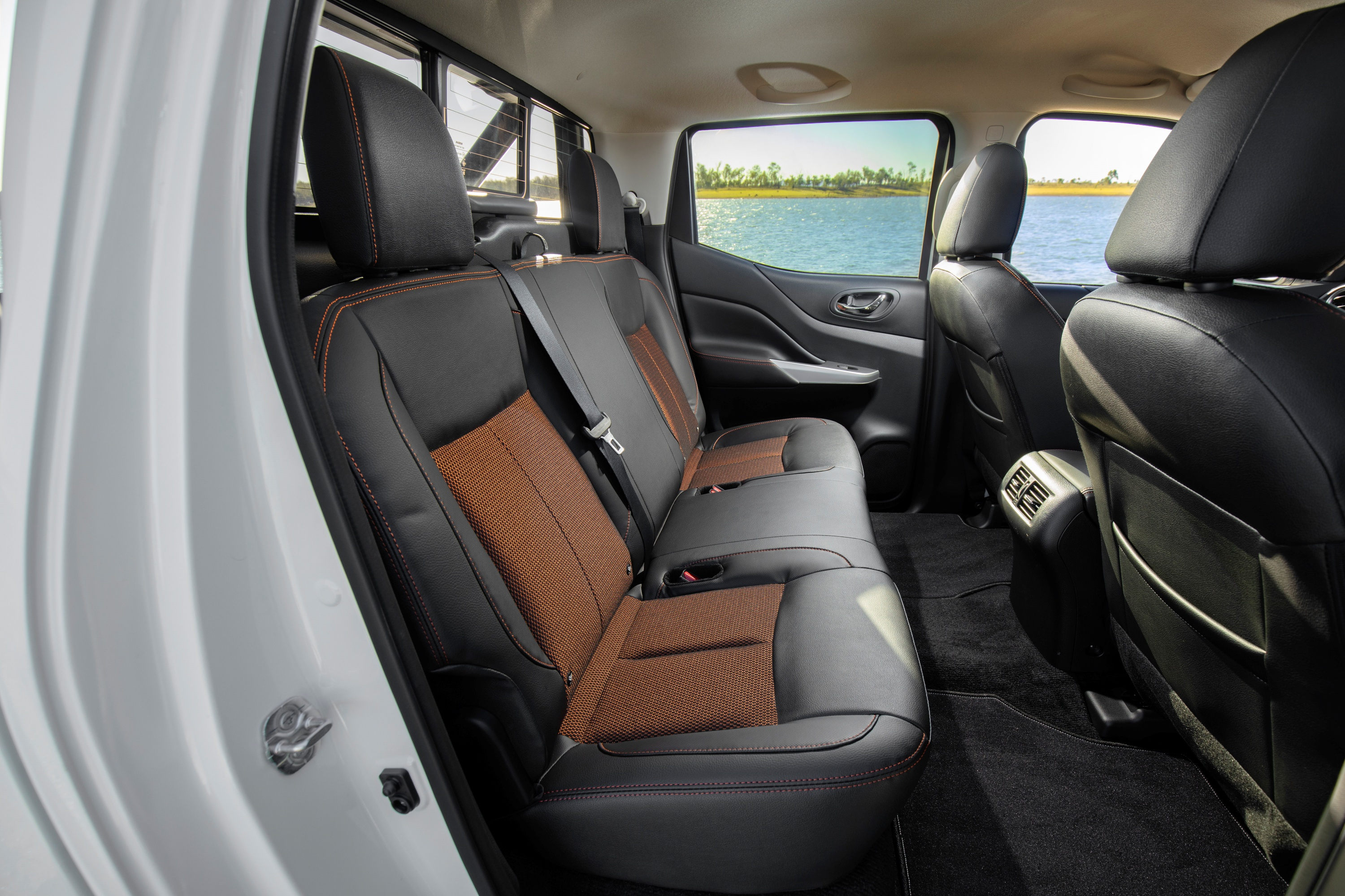 2019 Nissan Navara N-TREK rear seats