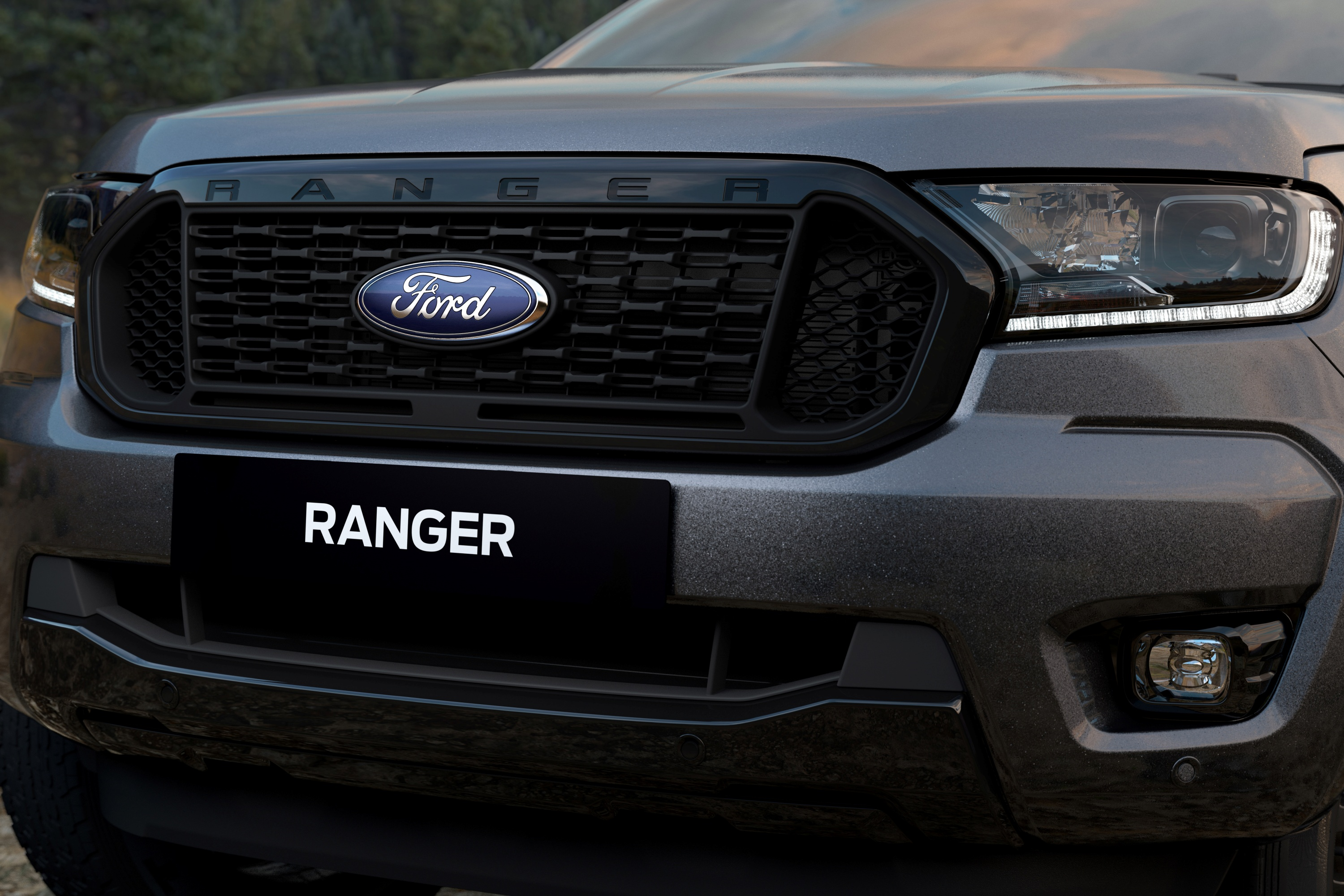 Ford Ranger FX4 Special Edition bonnet