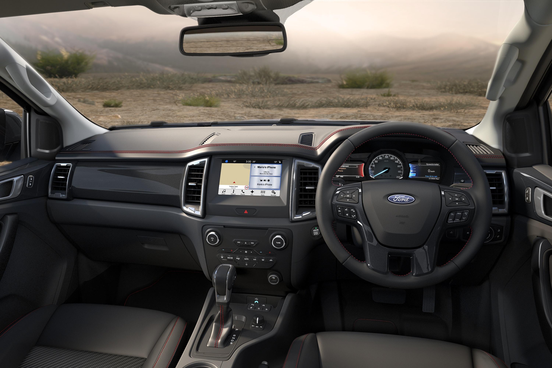 Ford Ranger FX4 Special Edition interior