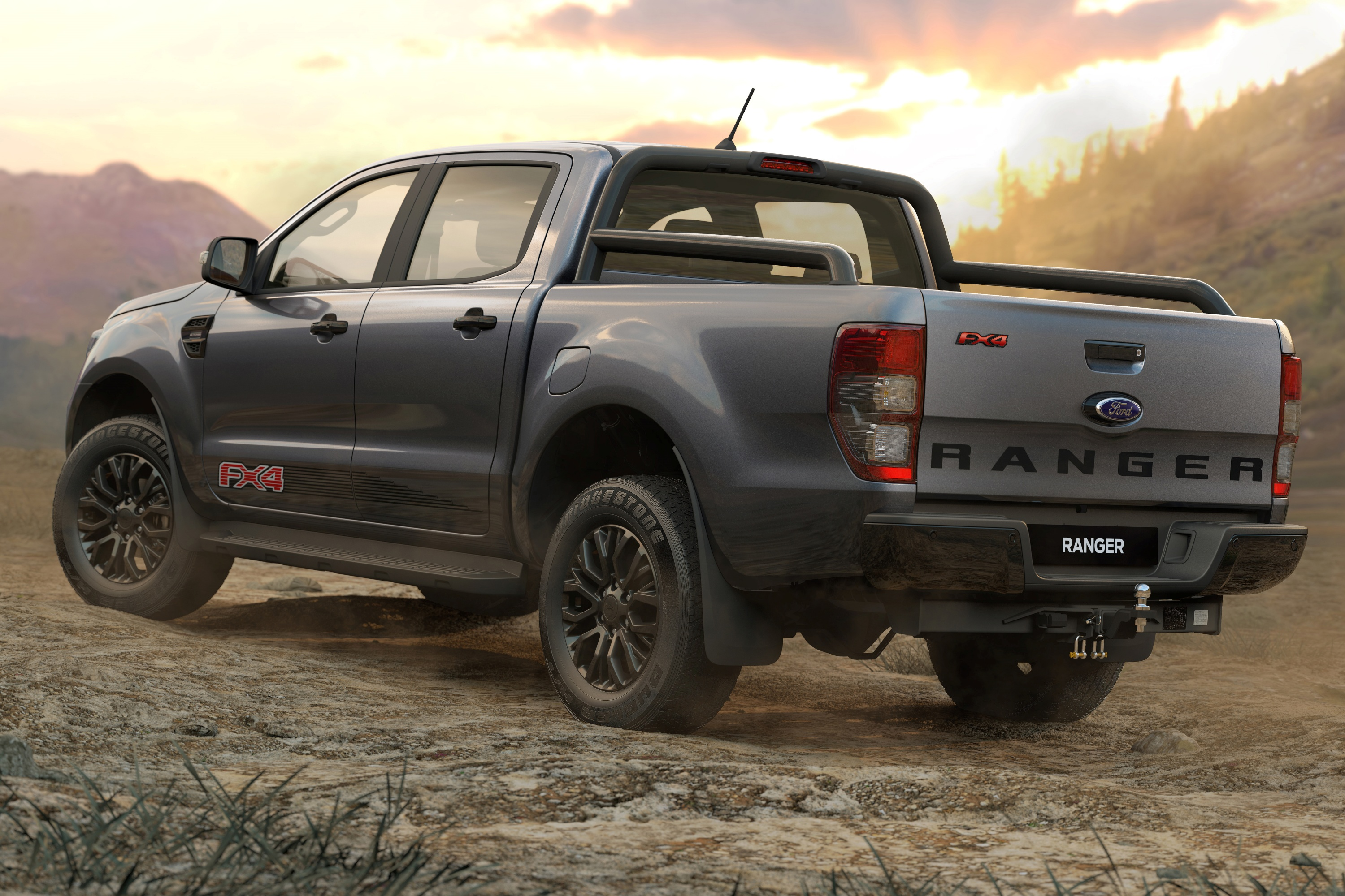 Ford Ranger FX4 Special Edition rear