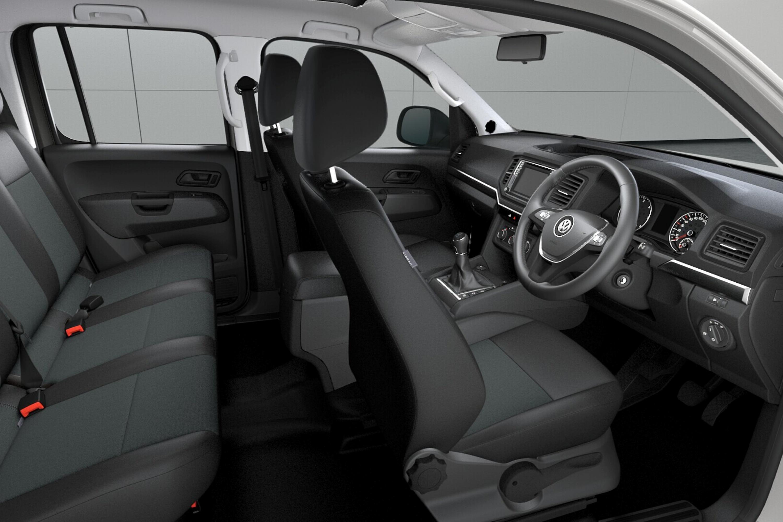 Amarok V6 Manual Interior