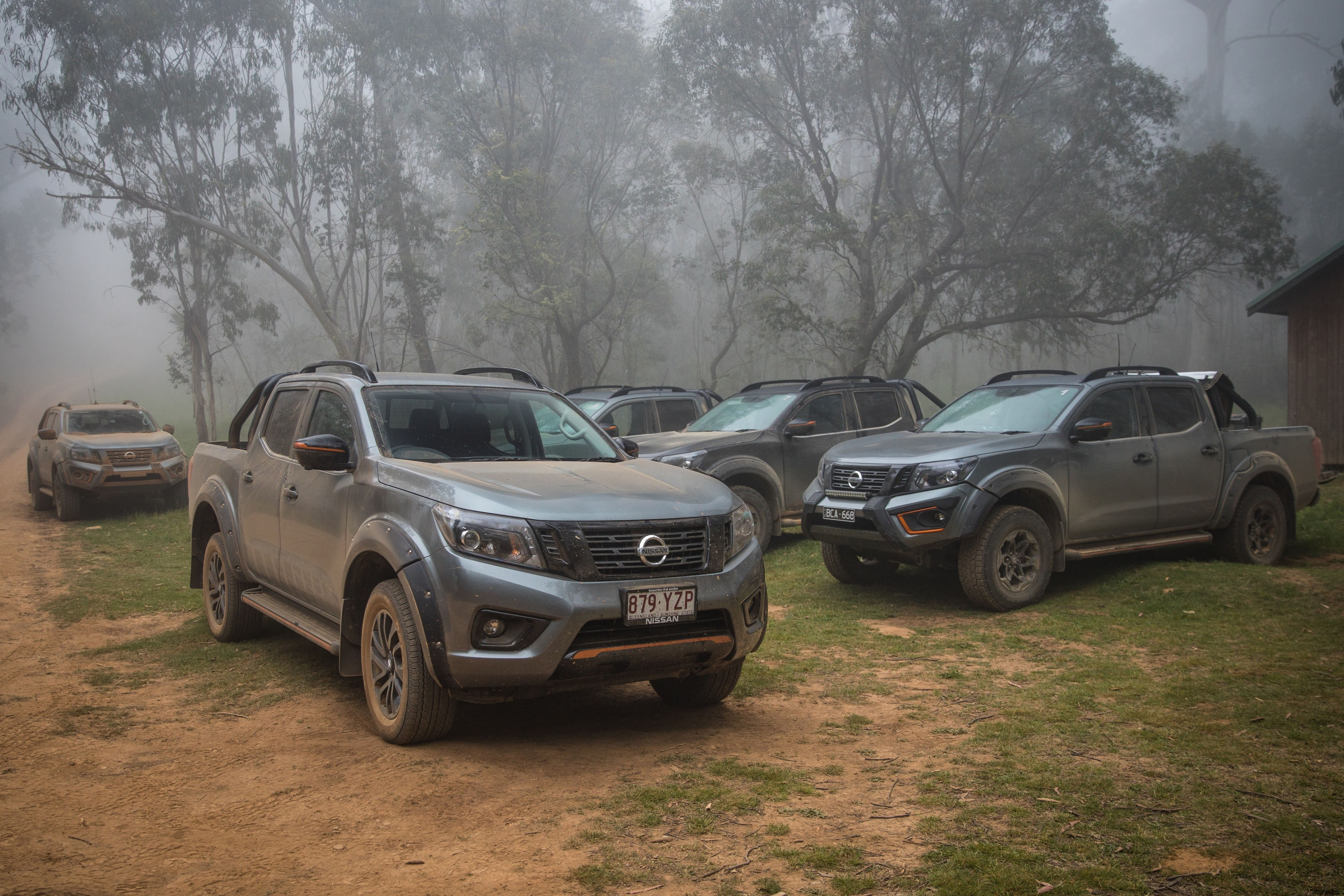 Nissan Navara N-TREK Warrior 19 group