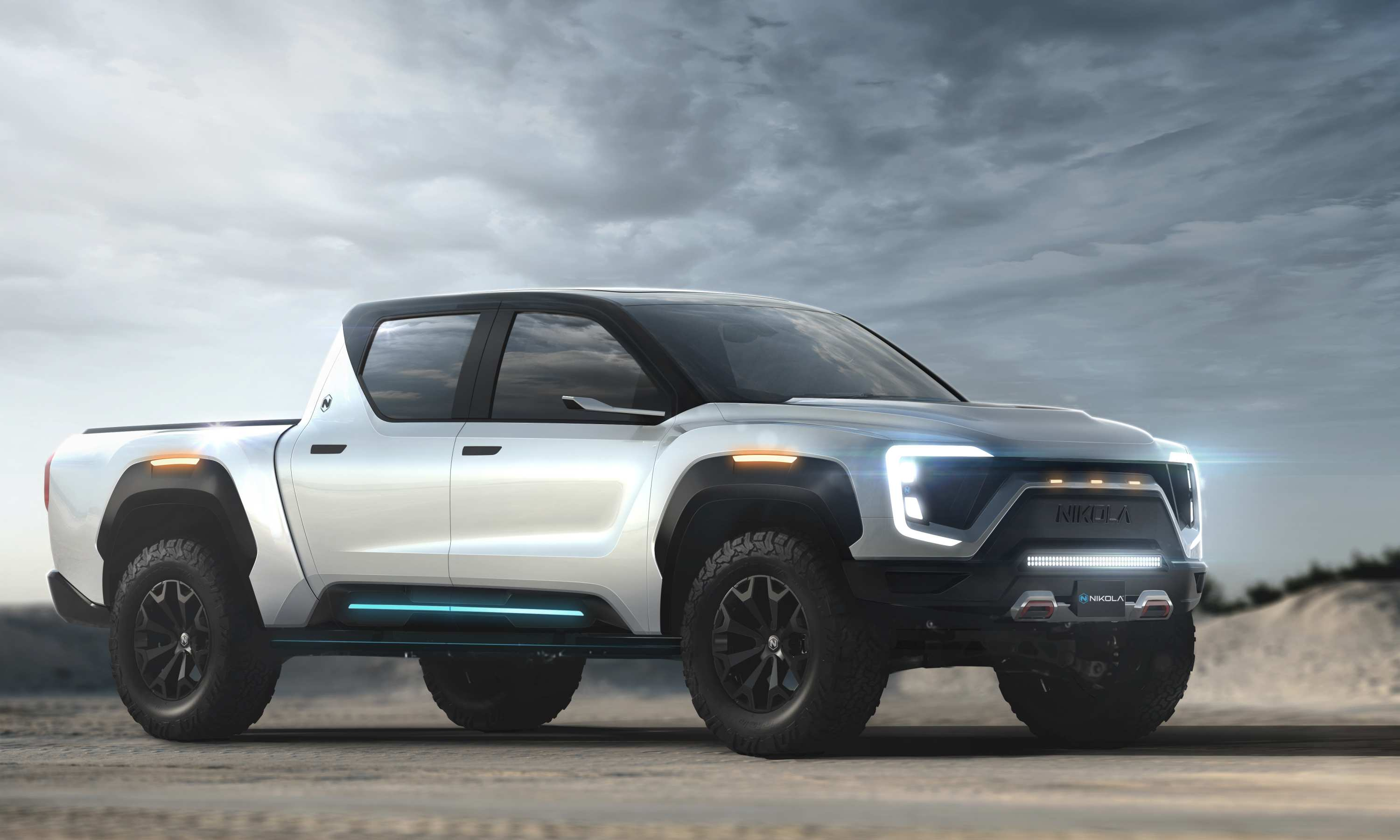 2020 Nikola Badger Electric Ute 1 exterior