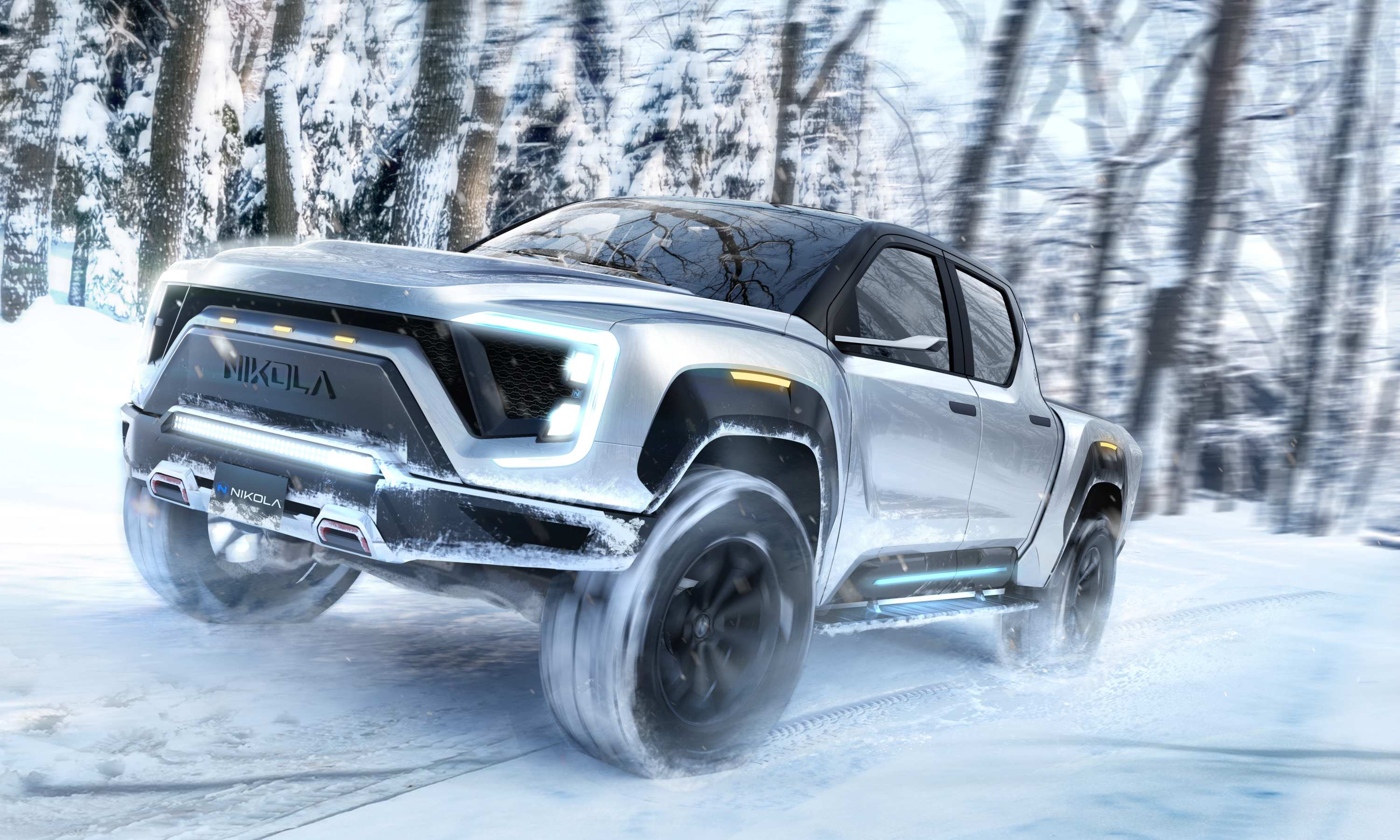 2020 Nikola Badger Electric Ute 3 exterior