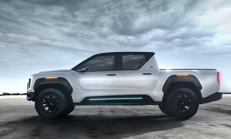 2020 Nikola Badger Electric Ute 4 exterior