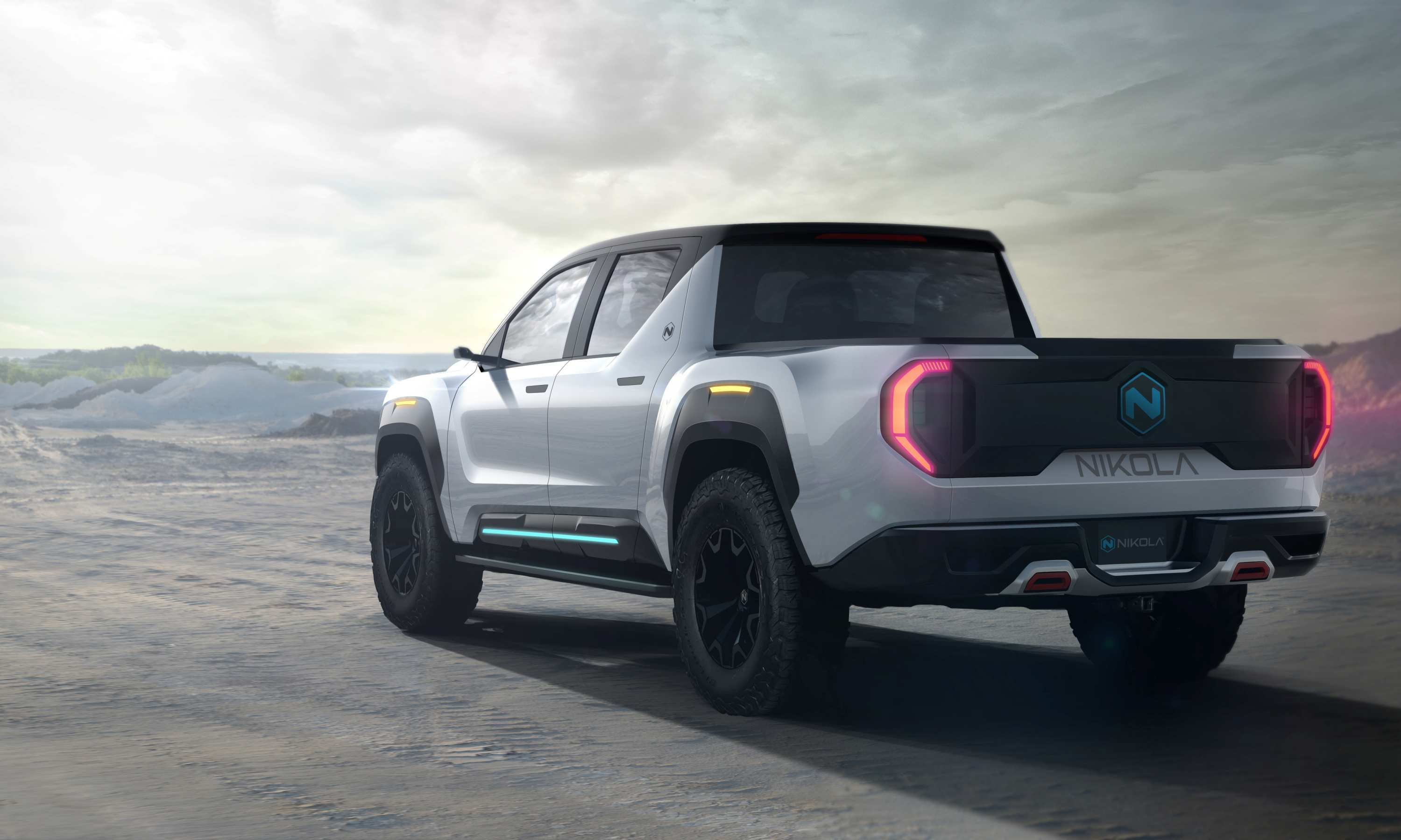 2020 Nikola Badger Electric Ute 5 exterior