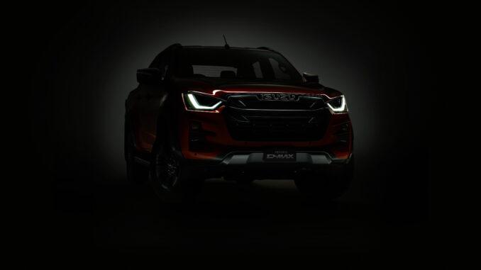 Australian-spec D-Max to be reveal on the 13th of August 2020, via an online public launch.