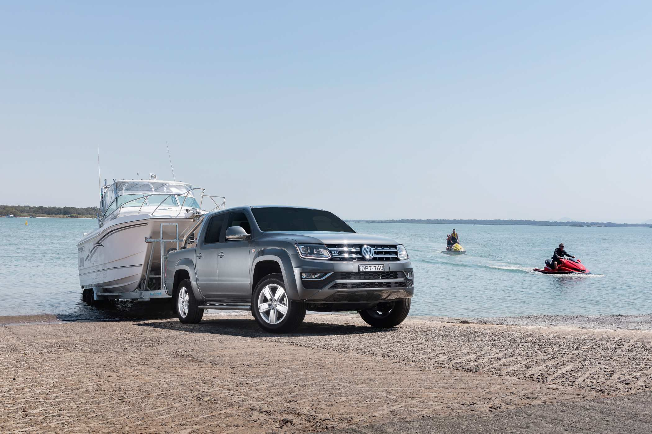 2018 Volkswagen Amarok V6 now with 3.5-tonne towing capacity.