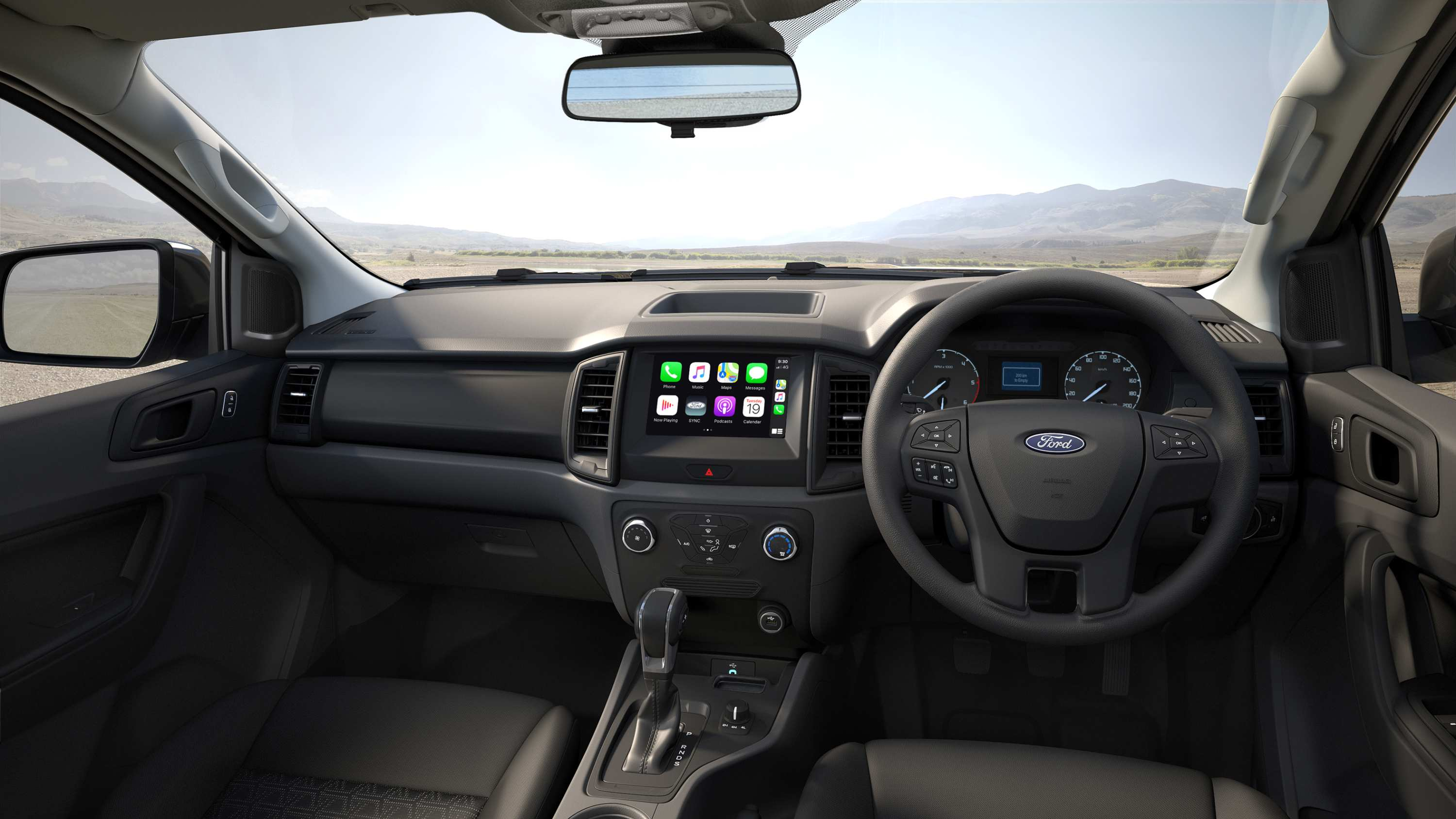 MY 2020_Ford_Ranger_XL-4x4_Special_Edition_Interior